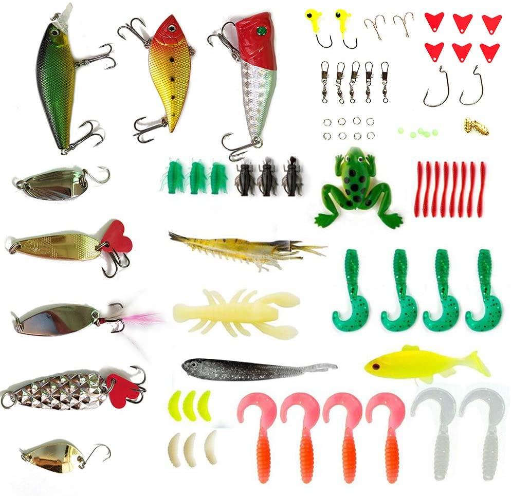 Apusale Fishing Lures Kit Set