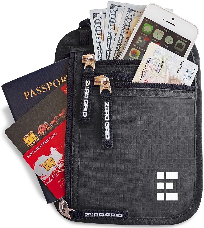 Neck Wallet by Zero Grid