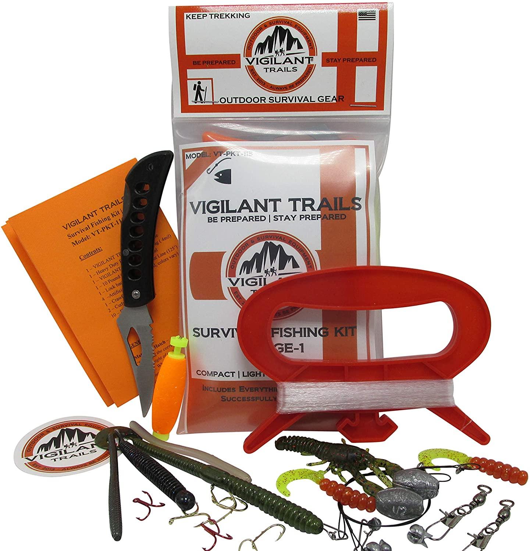 Vigilante Trails Pocket Survival Fishing Kit