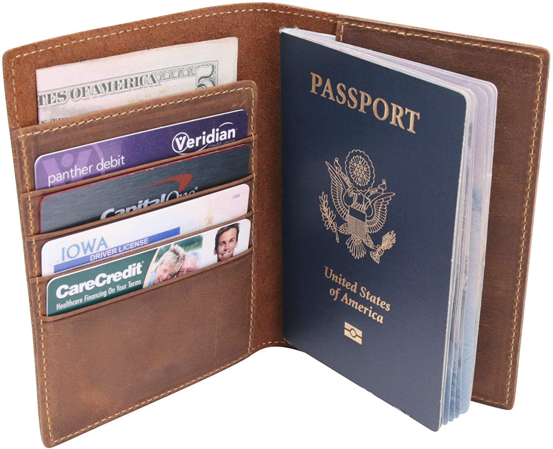 Wanderings Passport Holder