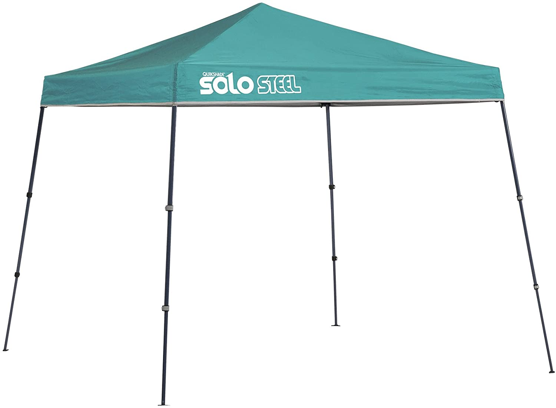 Quik Shade 9' x 9' Solo Steel Outdoor Pop-Up Canopy
