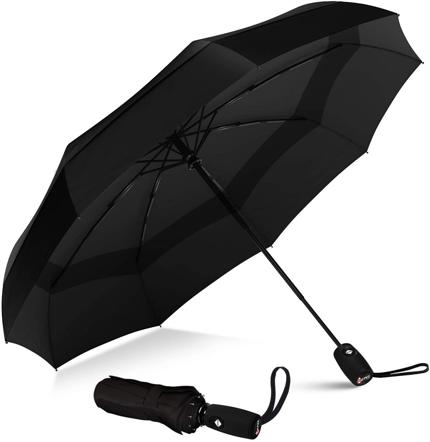 Repel Travel Umbrella with Coating