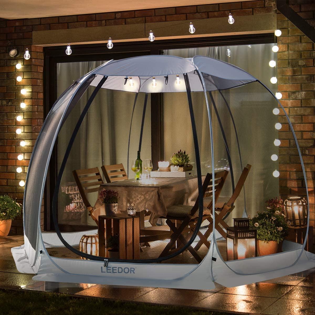 Leedor Gazebos for Patios Screen House Room Canopy