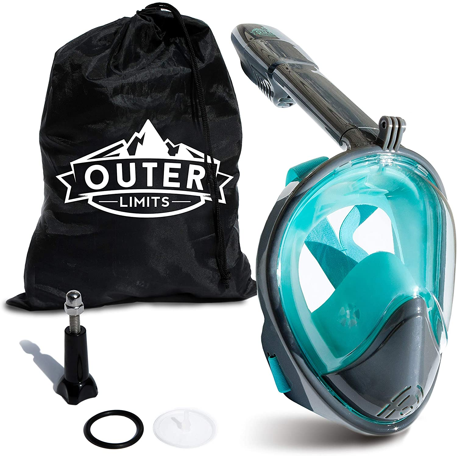 Outer Limits Full Face Snorkel Mask Adult