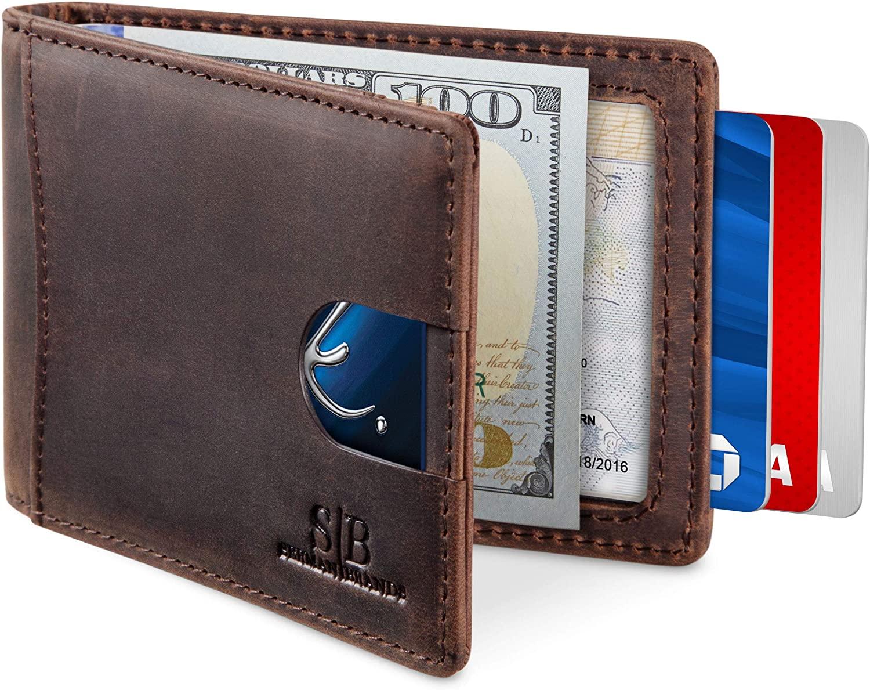 SERMAN BRANDS RFID Minimalist Front Pocket