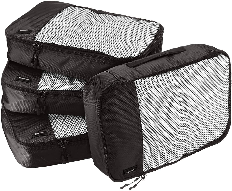 AmazonBasics Packing Travel Organizer Cubes Set
