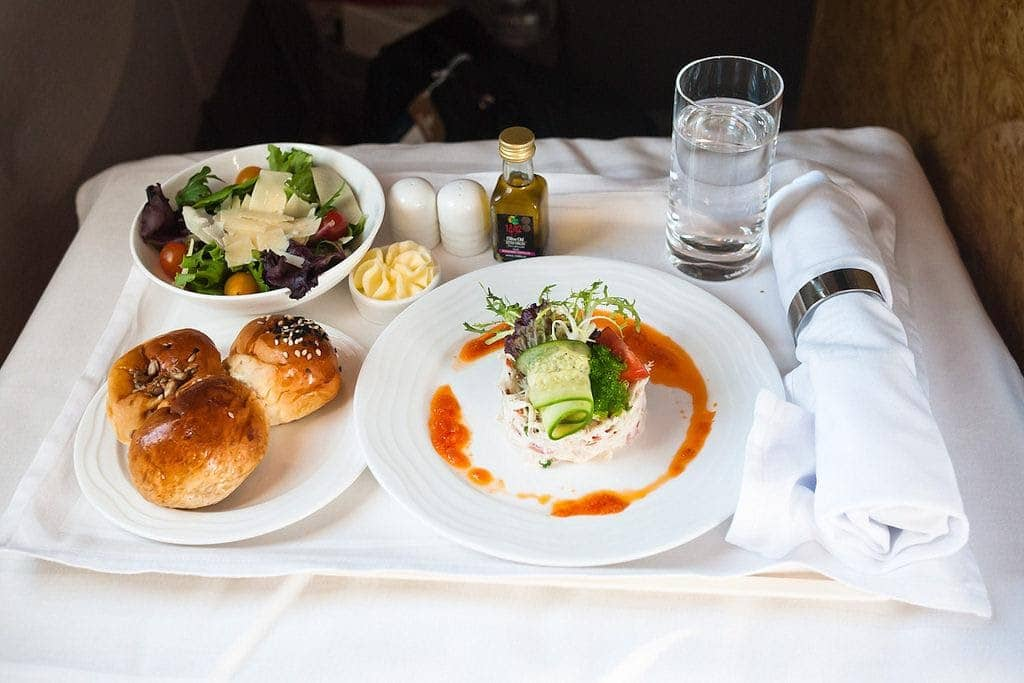 First-class food and beverage