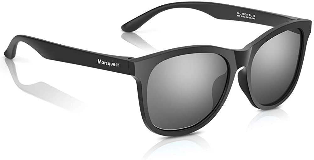 MARSQUEST Retro Classic Polarized Sunglasses for Men