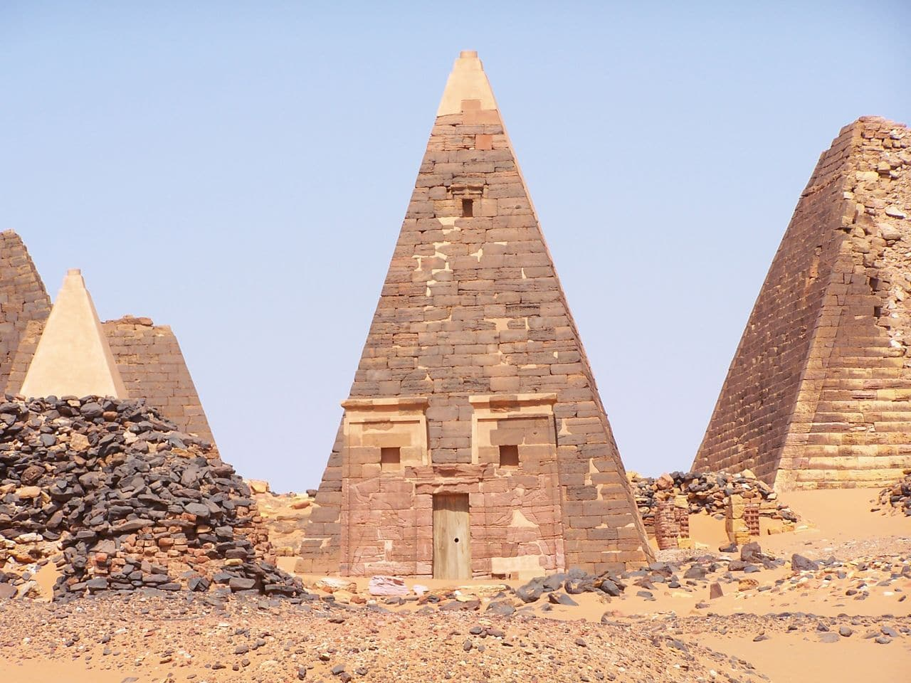 Pyramids of Northern Sudan