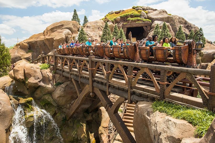 how many rides are at Disney World