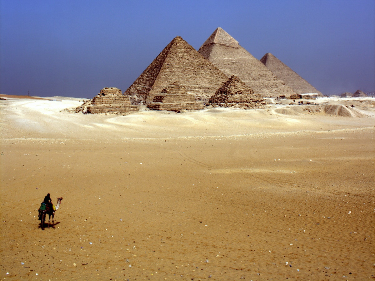 Djoser's Pyramid, Egypt