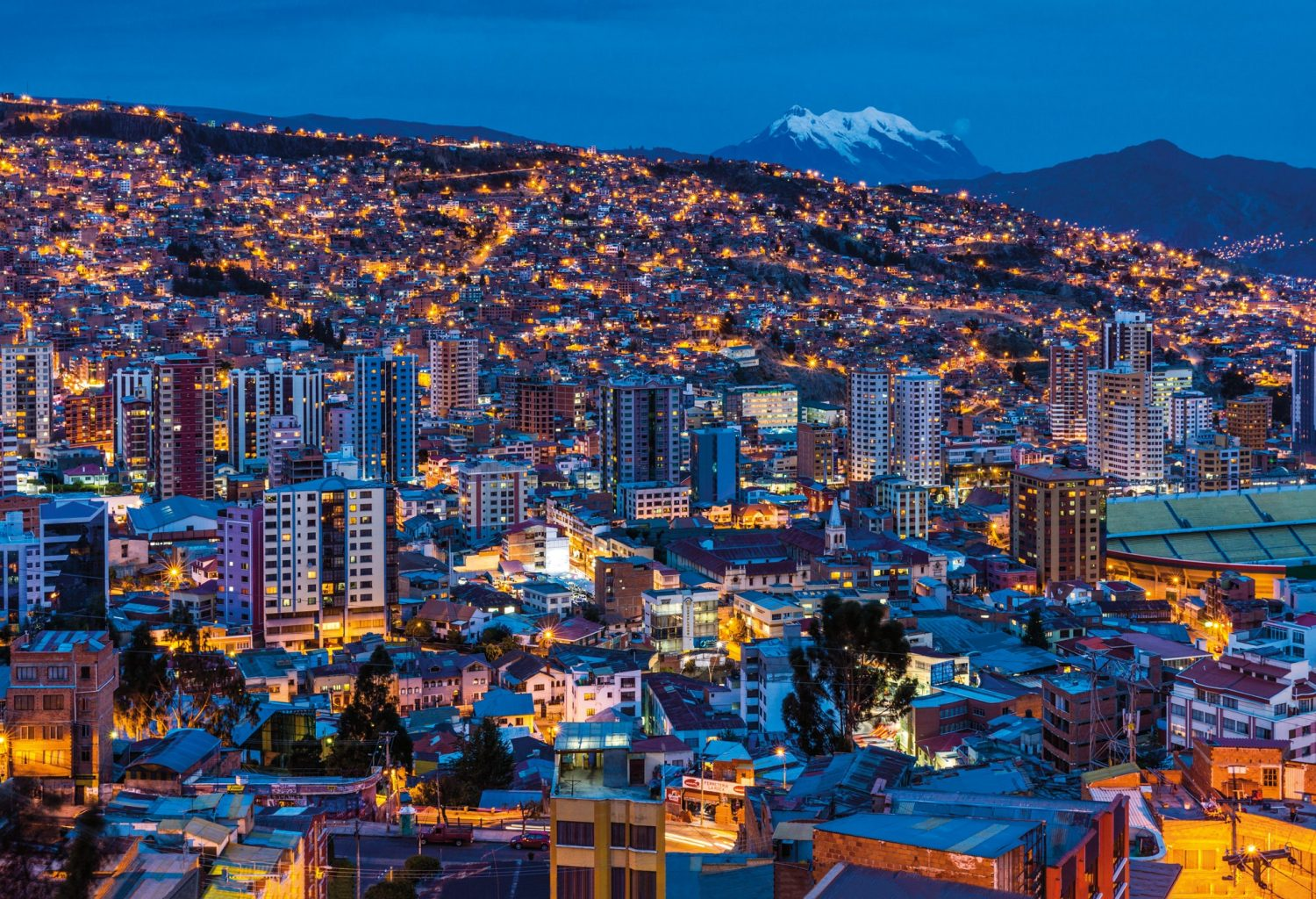 cities in Bolivia