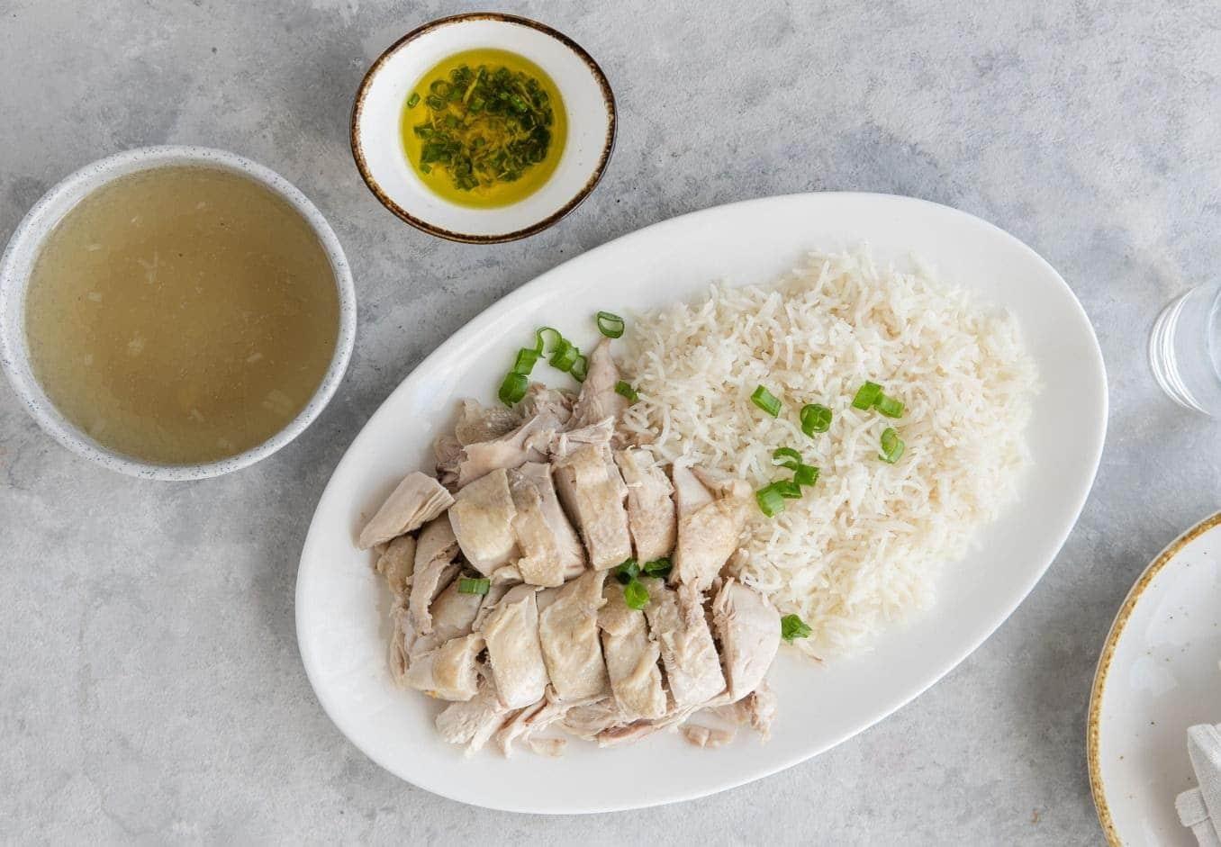 Hainanese Chicken Rice (Singapore)