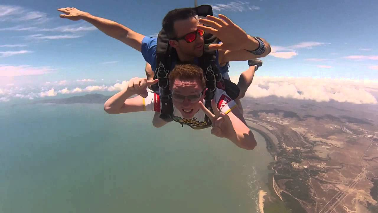 skydiving in Townsville Australia