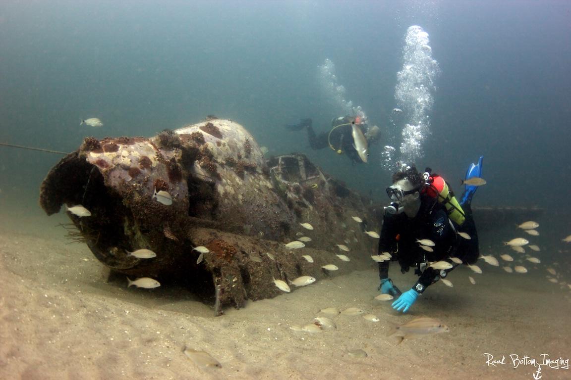 Myrtle Beach scuba diving - BP-25