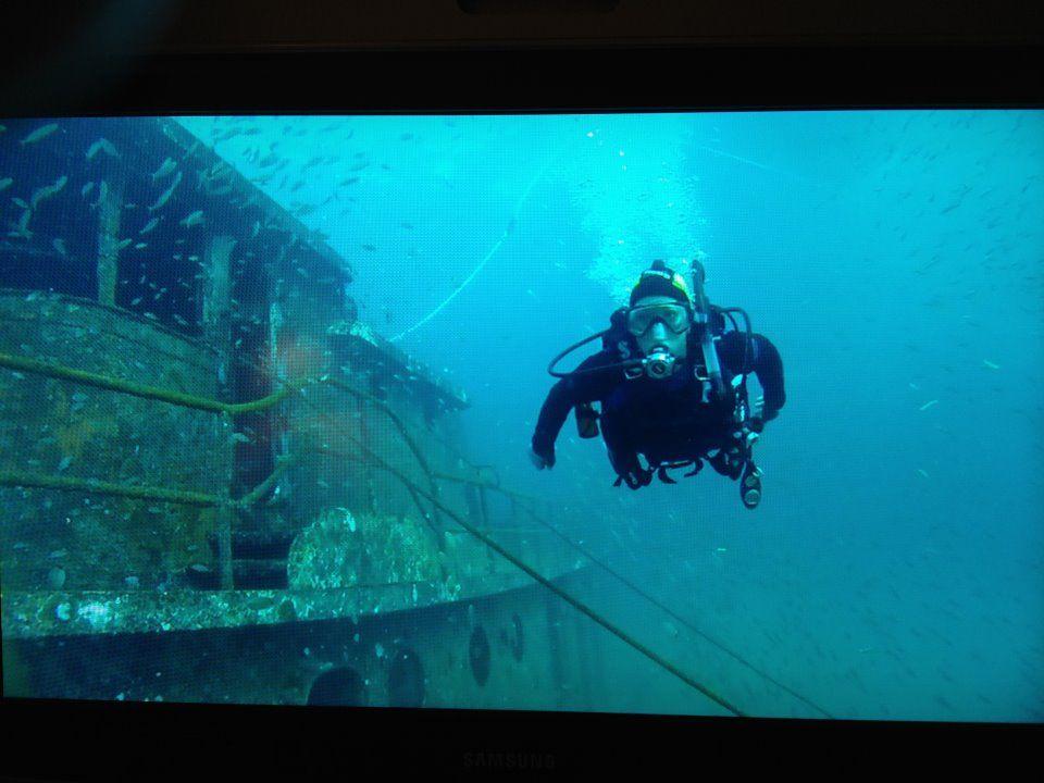 Myrtle Beach scuba diving - Charleston Tug
