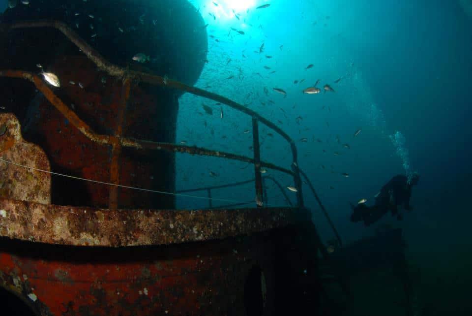 Myrtle Beach scuba diving - The Sherman