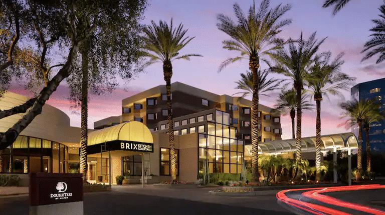 The Hilton DoubleTree Suites Phoenix