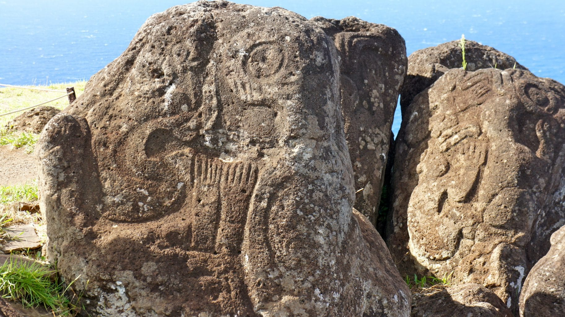 Ancient Petroglyphs of Easter Island