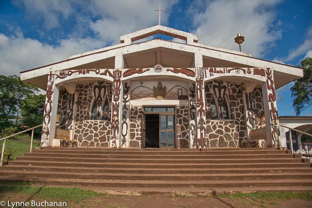 Easter Island - Hanga Roa Catholic Church