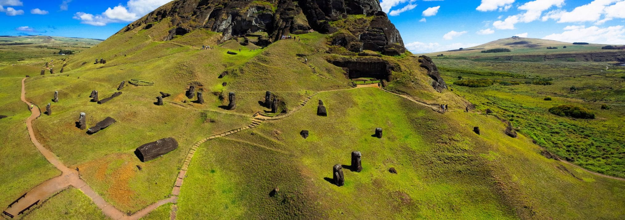 Easter Island - Rano Raraku National Park