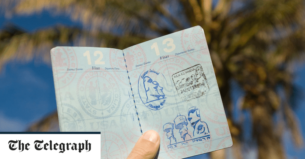 Easter Island passport stamp