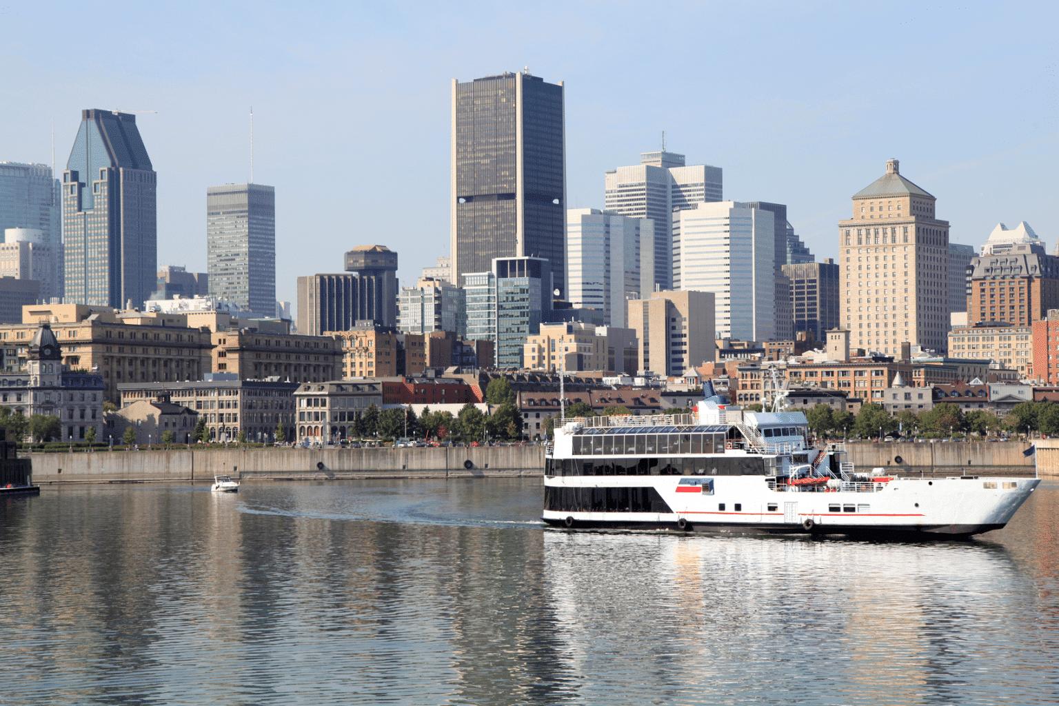Enjoy a Montreal Boat Tour