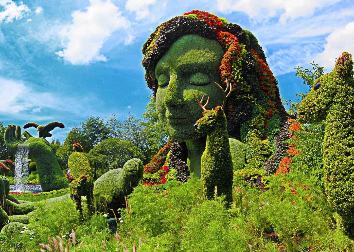 Mother Nature - Montreal Botanical Garden