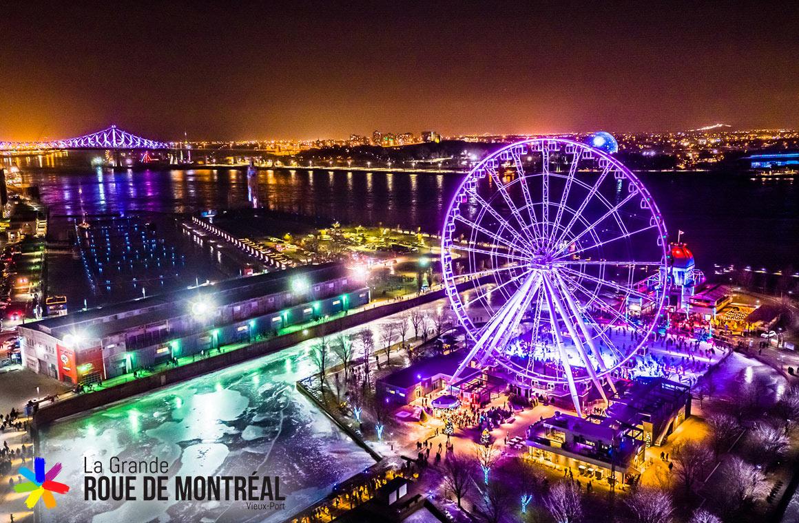 Ride the La Grand Roue de Montreal