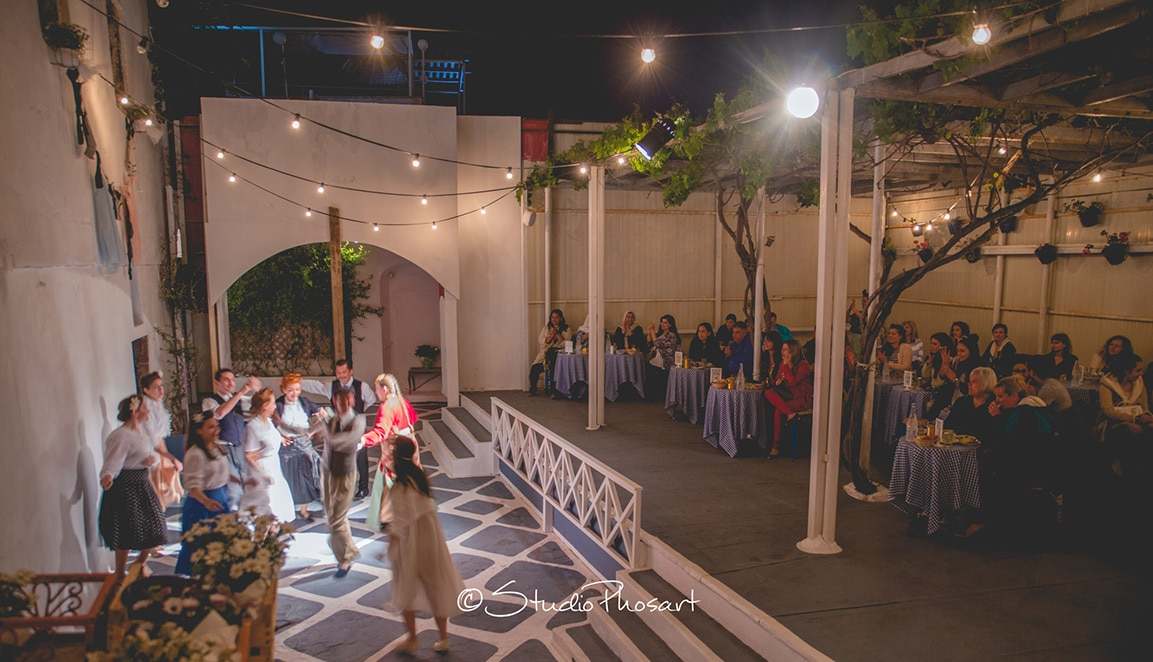 Santorini wedding show