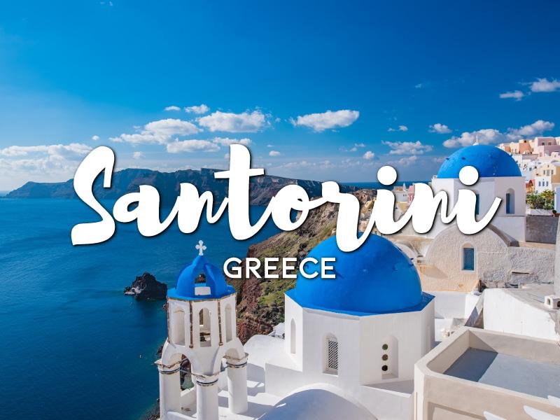 how to get around Santorini