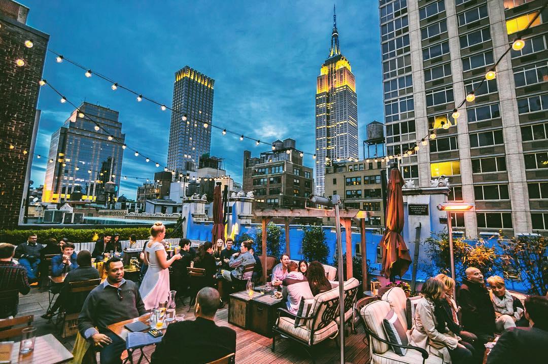 rooftop bars in Brooklyn