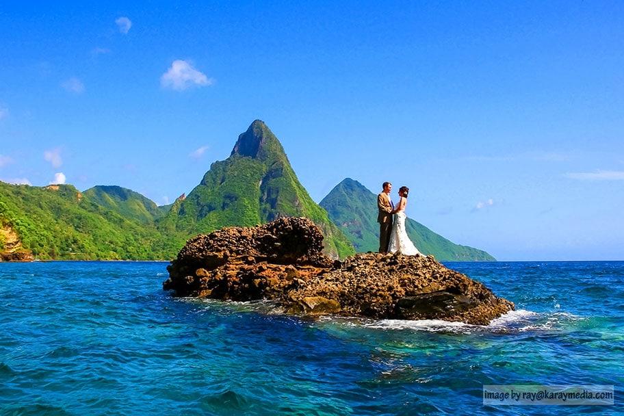 weddings in St Lucia