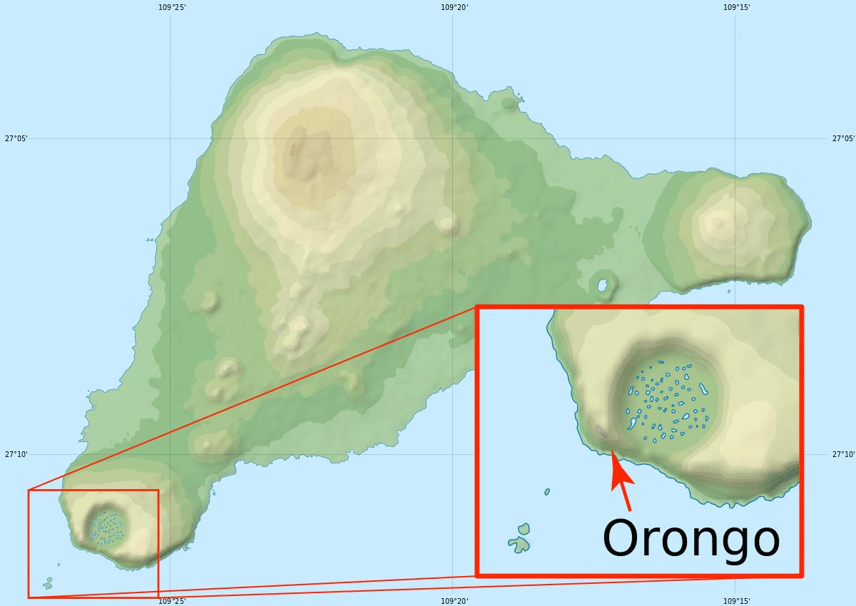 where is Orongo