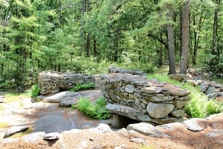 America's Stonehenge in New England