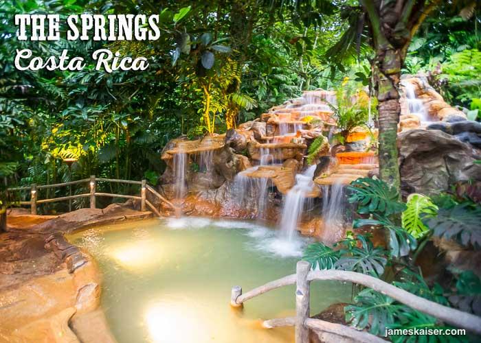 Best Arenal Volcano Hot Springs in Costa Rica