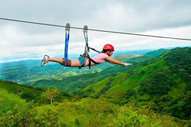 Costa Rica Zipline fun