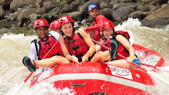 Fun Whitewater Rafting in Costa Rica