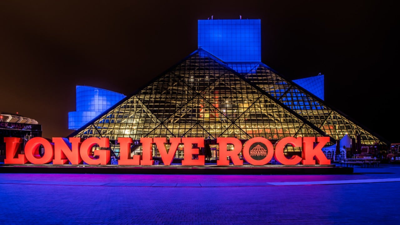 Long Live Rock - Cleveland Rock and Roll Hall of Fame