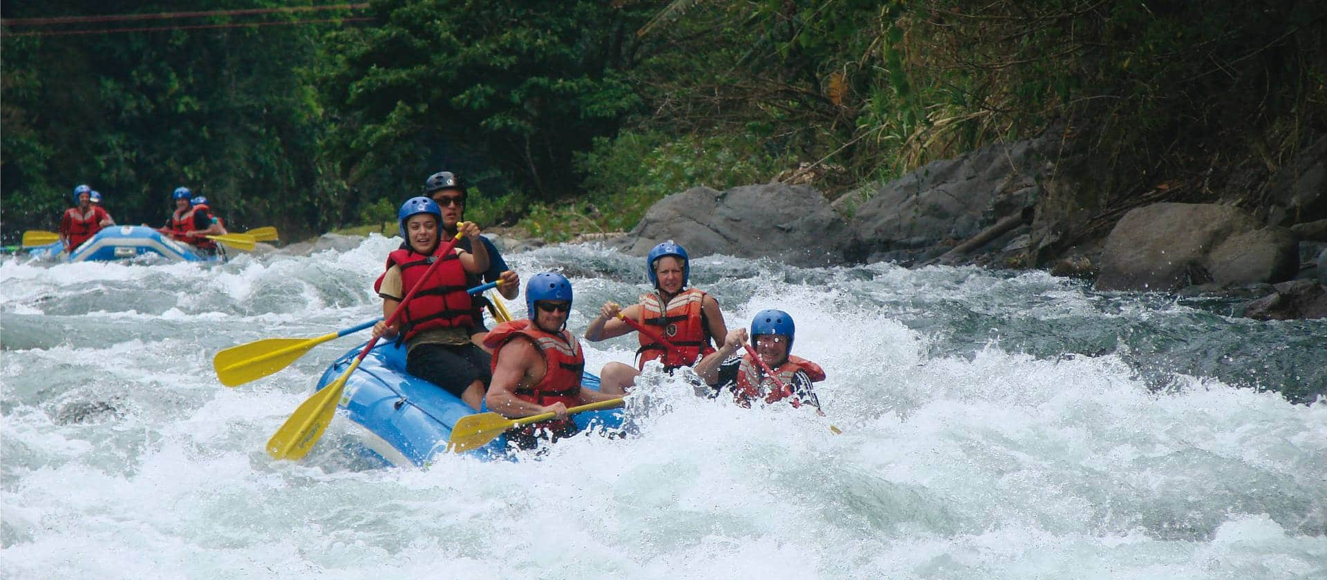 Pacuare Pejivalle Costa Rica Whitewater Rafting