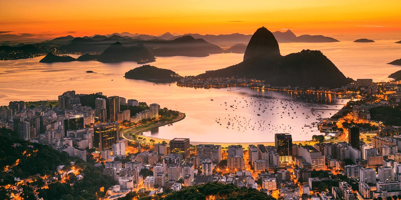Rio de Janeiro Brazil - where is it hot in December