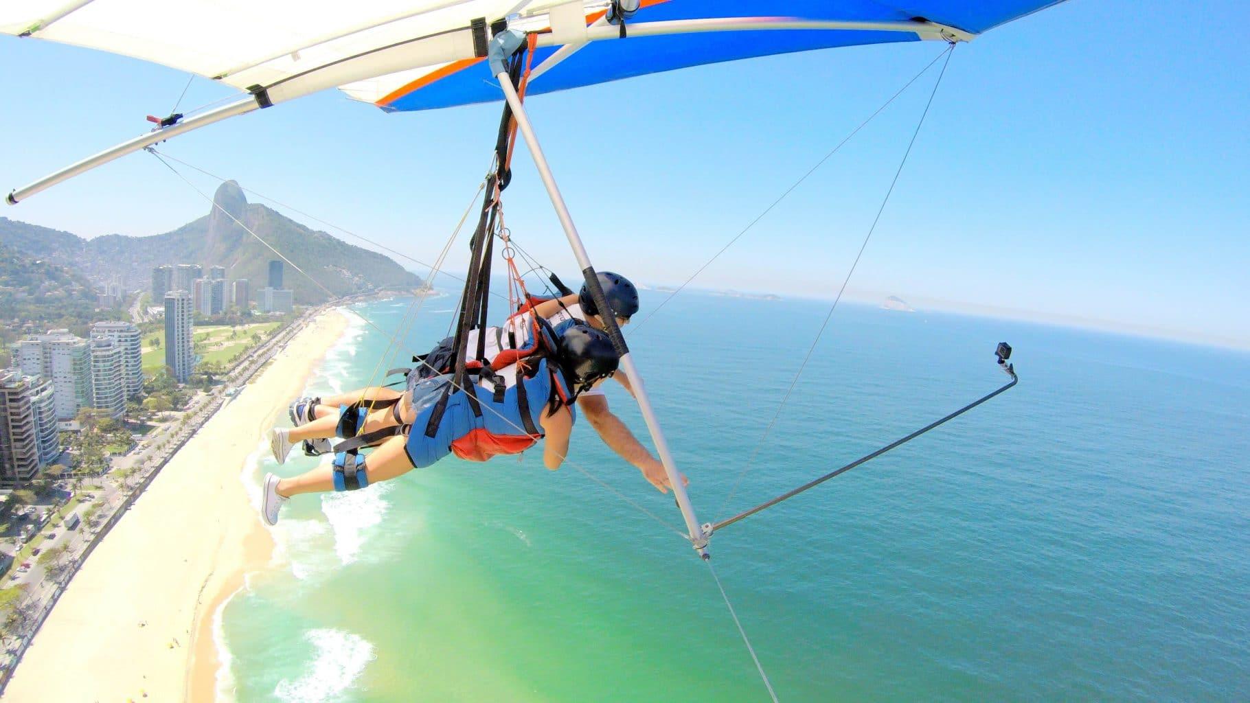 Rio de Janeiro hang gliding