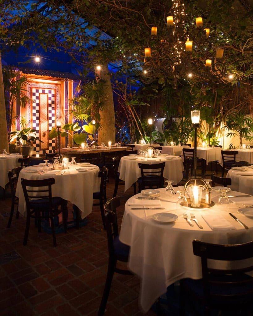 Romantic Restaurants - The Little Door restaurant
