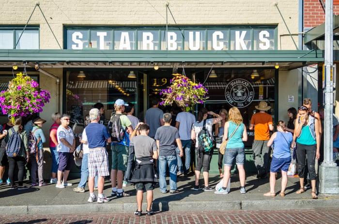 The Original Starbucks at 1912 Pike Pl Seattle WA 98101