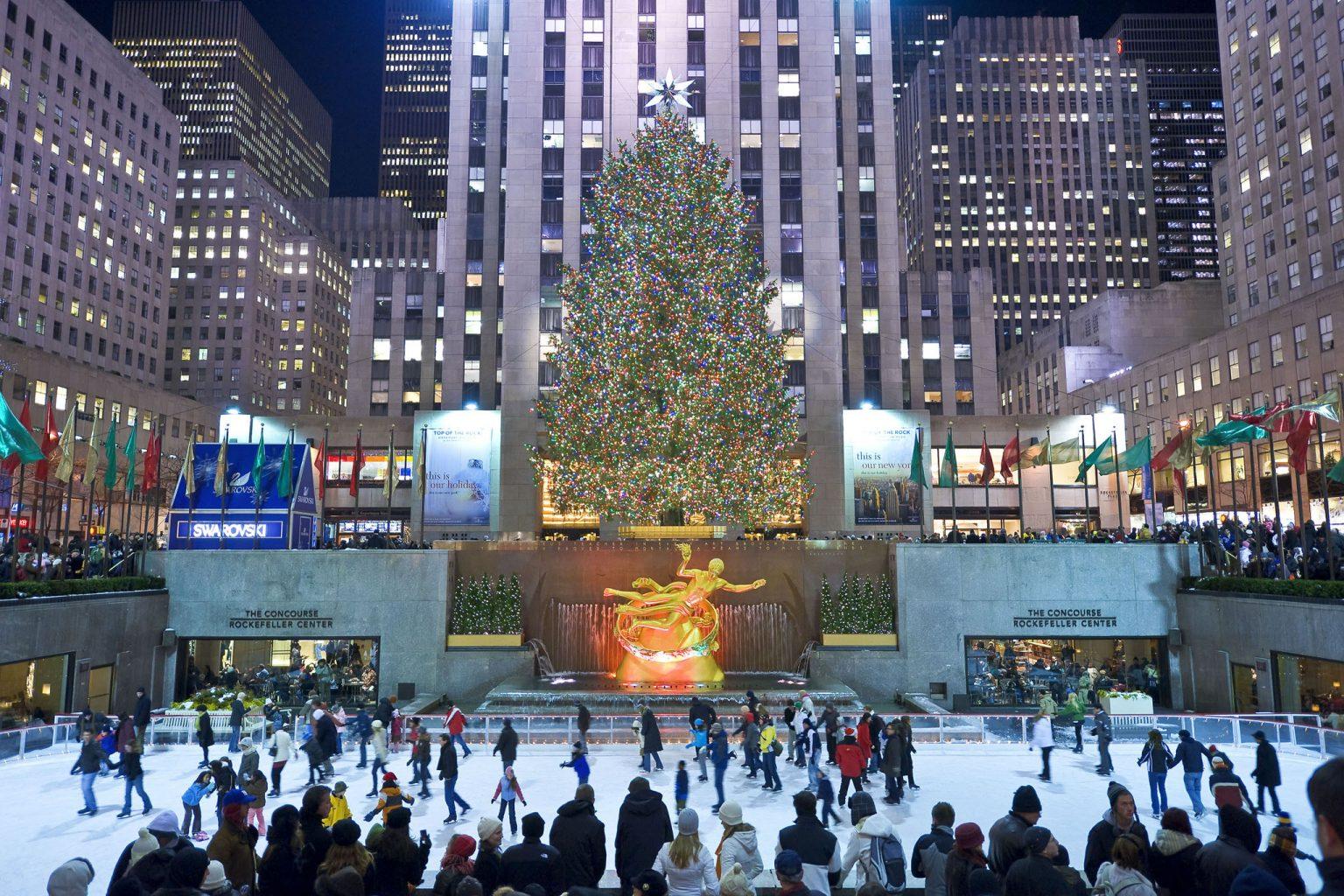 The Rockefeller Center in Manhattan NYC