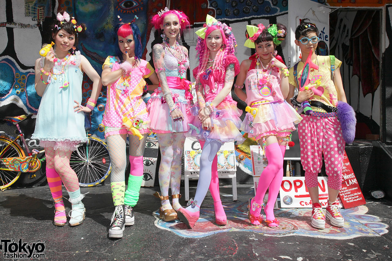 alternate fashion in Tokyo