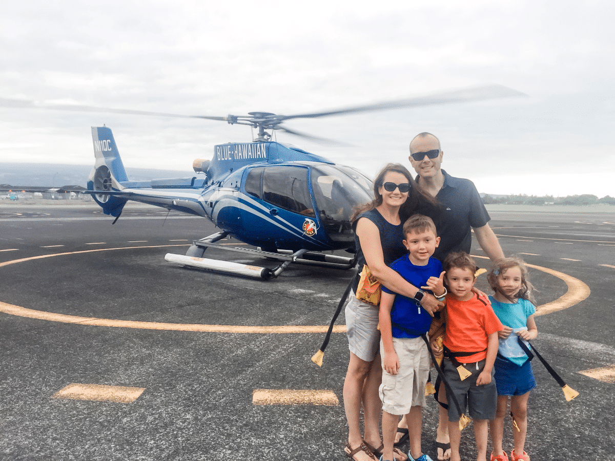 Helicopter Ride in Hawaii