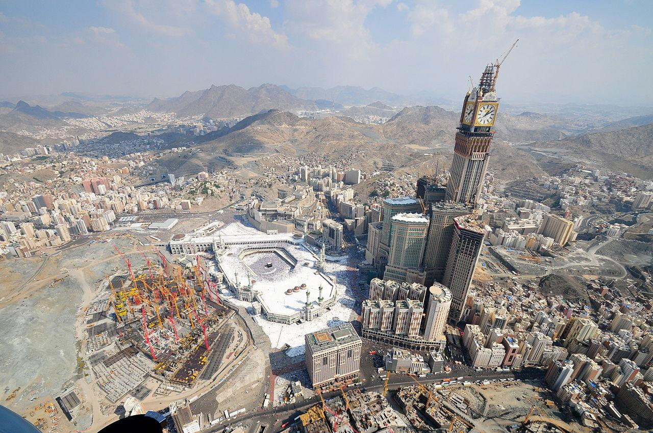 3rd tallest building in the world - Makkah Royal Clock Tower