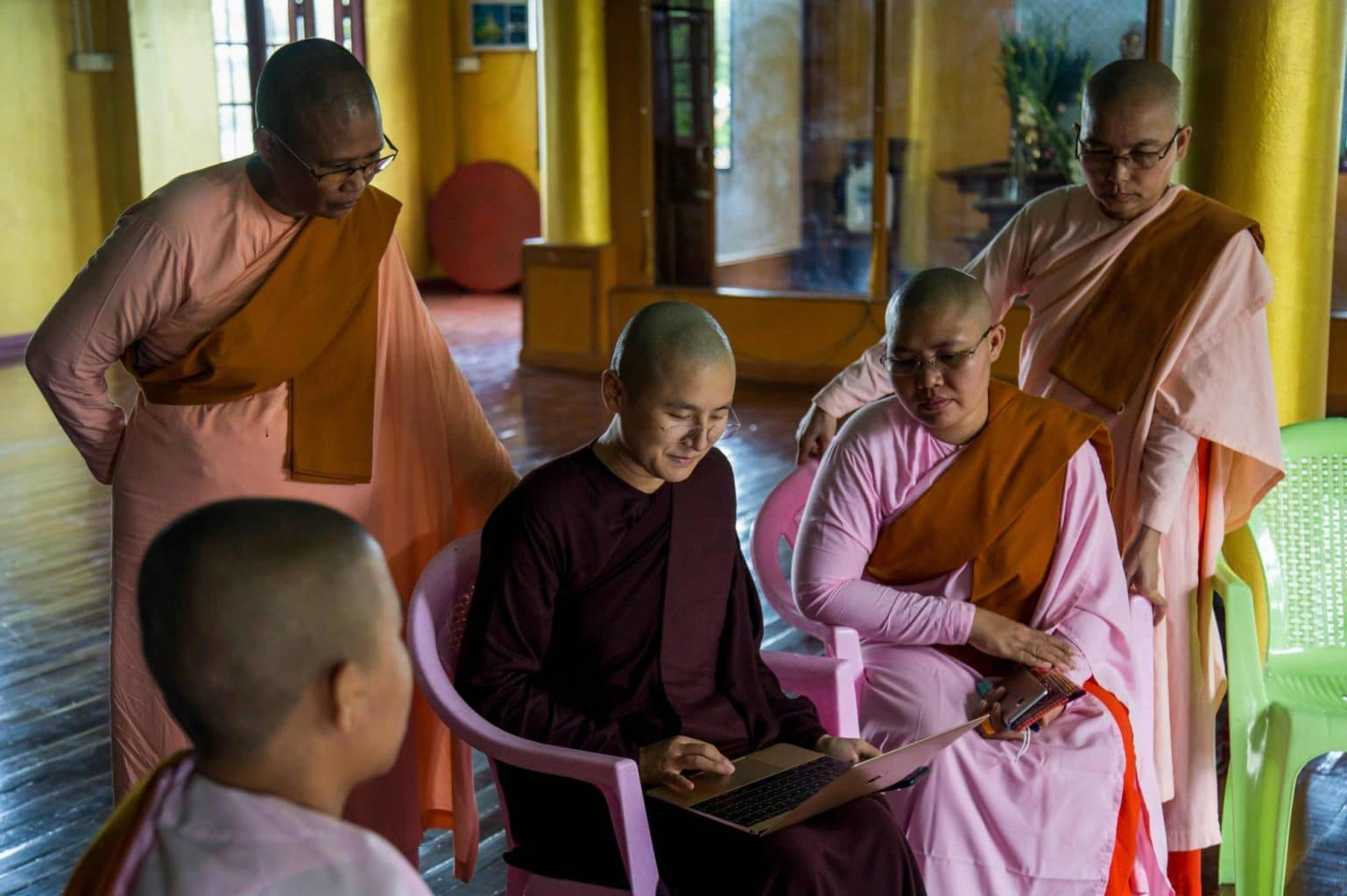 Burmese Buddhist Nuns of Burma
