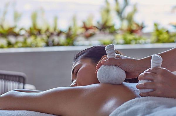 hot stone massage in Okinawa